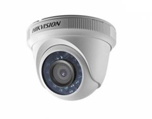 HIKVISIONΠλαστική κάμερα τύπου Dome TVI/AHD/CVI/CVBS 1080P σταθερού φακού 2.8mm