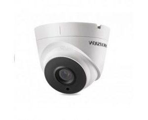 HIKVISIONΜεταλλική κάμερα τύπου TVI/CVI/AHD/CVBS 720P Dome Exir σταθερού φακού