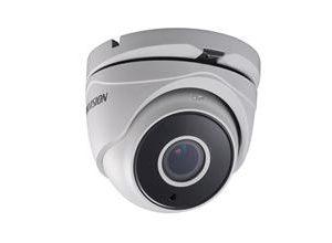 HIKVISIONΜεταλλική Motorized κάμερα τύπου Turbo HDTVI 1080P Dome Exir σταθερού φακού