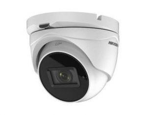 HIKVISIONΜεταλλική κάμερα τύπου TVI/AHD/CVI/CVBS 5MP DomeExir μεταβλητού φακού