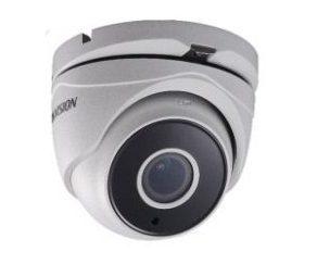 HIKVISIONΜεταλλική κάμερα τύπου Turbo HDTVI 5MP Dome Exir μεταβλητού φακού