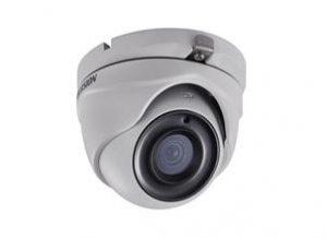 HIKVISIONΜεταλλική κάμερα τύπου Turbo HDTVI 3MP Dome mini Exir σταθερού φακού