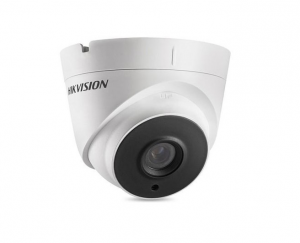 HIKVISIONΜεταλλική κάμερα τύπου Turbo HDTVI 5MP Dome Exir σταθερού φακού
