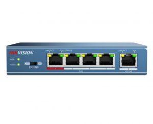 HIKVISION4 ports PoE switch 802.3af