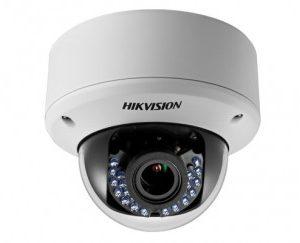 HIKVISIONΠλαστική κάμερα τύπου Turbo HDTVI 720P Dome μεταβλητού φακού