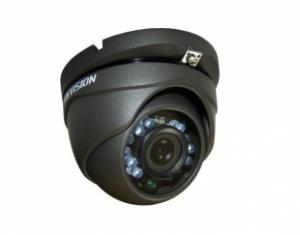 HIKVISIONΜεταλλική κάμερα τύπου Turbo HDTVI 1080P Dome σταθερού φακού