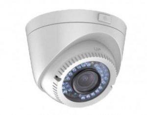 HIKVISIONΜεταλλική κάμερα τύπου HDTVI 2MP Dome μεταβλητού φακού 2.8mm – 12mm
