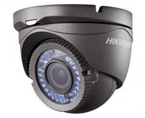 HIKVISION Μεταλλική κάμερα τύπου HDTVI 1080P Dome μεταβλητού φακού