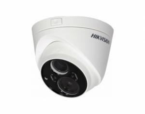 HIKVISIONΜεταλλική κάμερα τύπου Turbo HDTVI 1080P Dome Exir σταθερού φακού