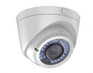 HIKVISIONΜεταλλική κάμερα τύπου HDTVI 720P Dome μεταβλήτου φακού