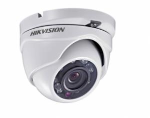 HIKVISIONΜεταλλική κάμερα τύπου Turbo TVI/CVI/AHD/CVBS 720P Dome σταθερού φακού