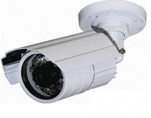 Μεταλλική κάμερα τύπου Bullet σταθερού φακού