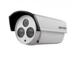 HIKVISIONΜεταλλική κάμερα τύπου Bullet 720TVL σταθερού φακού