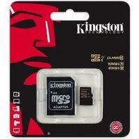 Kingstone 64GB microSDHC Class 10 +Adapter