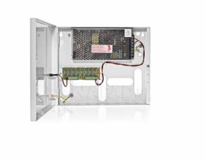 PULSAR Τροφοδοτικό 12V 8A 8 εξόδων με προστασία υπερέντασης