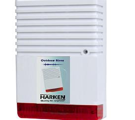 HARKEN Εξωτερική Σειρήνα συναγερμού Harken 120db με φλάς